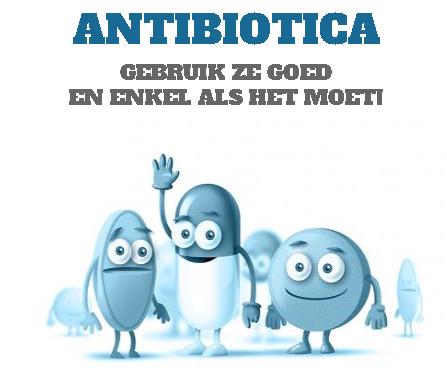 Afbeeldingsresultaat voor correct antibiotica